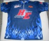 sublimated printing fishing jersey