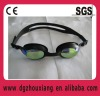 Cheap and hot-saled one-piece racing swimming goggles