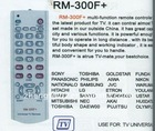 universal remote control RM-300F+