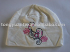 Embroidered fashion hat