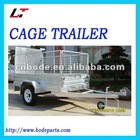 HOT DIP GALVANIZED BOX TRAILER(MC-131)
