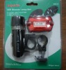 high power led bike lamp/ led bicycle light set