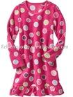 Flower girl fleece sleepwear
