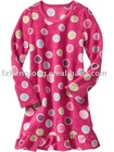 Flower girl fleece sleepwear