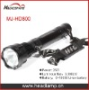 35W 3000LM HID Xenon Torch Flashlight Kit (MJ-HD800)