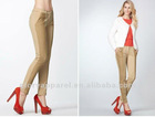New fashion skinny pants with lace combination