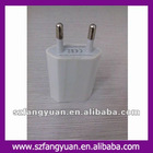 AC 110V-220V usb wall charger to mobile phones Language Option French