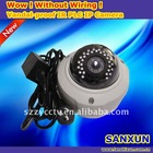 Plug and Play Vandal-proof PLC IR IP Dome Camera