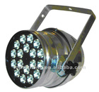 dimmable led 18*1W rgbw par 64 stage light