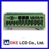Energy meters LCD display