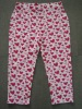 ladies heart printing sleep lounge pants
