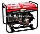 4.5KVA diesel engine air-cooled genset