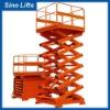 Stationary hydraulic lifte