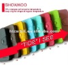 SHOWKOO Colorful Book Style Leather Case for Apple iPhone 5 5G