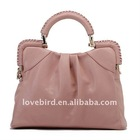 wholesale lady leather hand bag and shoulder bags with PU