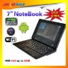 7 inch netbook with WIFI camera for web explore USB ransfer
