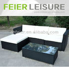 A6034SF cheap outdoor wicker furniture rattan sofa