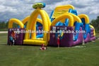 inflatable slide new/ inflatable slides wet dry combo