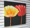 High Resolution Poppy Printed Canvas Painting