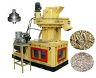 HMKS series ring die pellet machine for wood