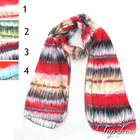 chiffon fashion scarves stripe
