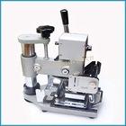 Hot stamping machine for making bank card