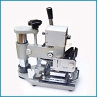 Hot stamping machine for making bank card