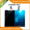 LH350WS1 Mobile Phone Display Screen for Iphone 4G