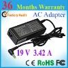 19V 3.42A adapter laptop original for Toshiba PA3467E-1AC3 laptop