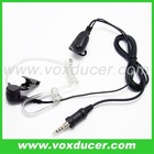 Push to talk earphone with microphone for Yaesu Vertex two way radio VX6R/E VX7R/E VX170 VX177 VX120 VX127 HX471 VX460