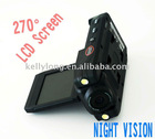 New car tracking video cam with double LED light JUE-089