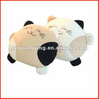 cat plush cushion