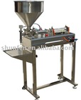 Paste Filling Machine with Stand Semi-atuo