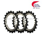 sprocket rim for excavator and bulldozer