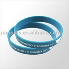 Silicone Bracelet with Custom Logo Printed on