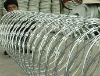 (high quality)PVC coated and galvanized razor barbed wire