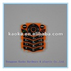 plastic keypad,rubber keypad,silicon keypad for phone