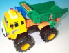 bigger size handle plastic truck for child