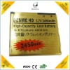 HOT! for HTC desire HD battery replacement with best price