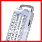 H68 120 LED 6V 4.5AH Rechargeable Emergency Light With Pull Switch Function