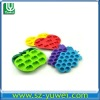 silicon new ice mould FDA custom 6pcs-9pcs shape silicone ice cube tray