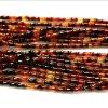 Grade A+ Bamboo Shape Natural Agate Loose Strand