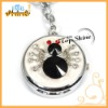 Spider metal key chain watch with pocket watch necklace penda (T00048)