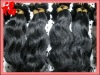 Virgin Hair Weaves for Black Women_20 Inch Color 1B Peruvian Natural Straight Weave