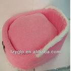 plush animal pet bed, dog bed, polyester pet bed for wholesale