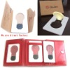 Solar led card light Promotional gift wholesale retail price factory direct discount guaranteed 110%
