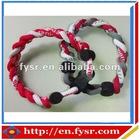 Braided Titanium Sports Bracelet