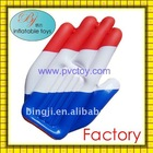 Advertising inflatable hand with National flag print for promotions