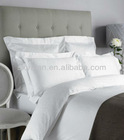 100%cotton white Luxury hotel jacquard bedding set,Hospitality Bed Linen