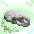 Raw white 100% spun polyester yarn for sewing thread bobbin